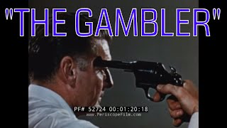 """THE GAMBLER""  1950s CATERPILLAR CONSTRUCTION EQUIPMENT SAFETY FILM  GRADERS, BULLDOZERS  52724"
