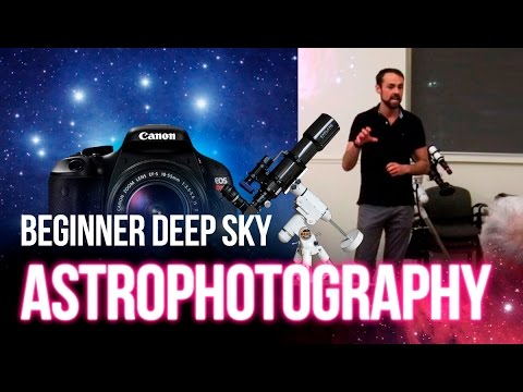 How to: Beginner Astrophotography with a DSLR and Telescope