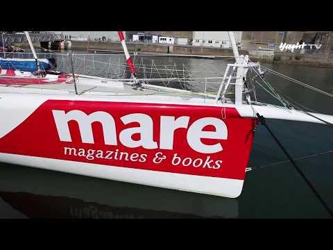 """""""Mare"""", der erste deutsche Open 60 - Bordbesuch 2014"""