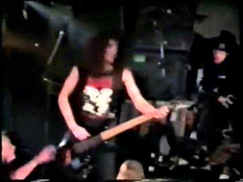 Brutal Truth 1993 - Displacement  Live in Copenhagen on  14-01-1993 Deathtube999