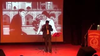 DIL BEKARAR SA HAI A KARAOKE LIVE SONG BY PRABHATKUMAR SINHA 1
