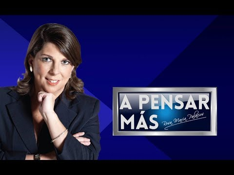 A PENSAR MÁS CON ROSA MARÍA PALACIOS 17/01/19