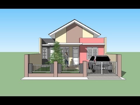 House building tutorial with Google Sketchup