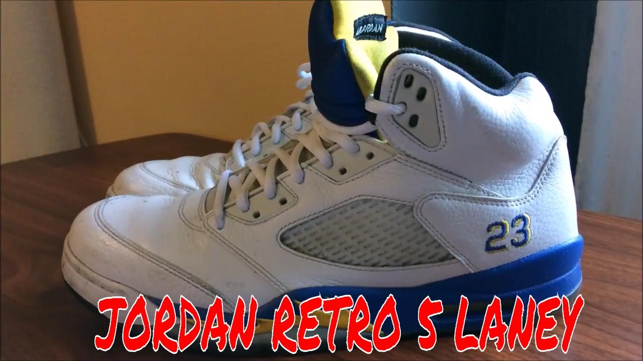 How to deep clean Jordan retro 5 laney