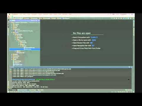 Zend Framework 2 & Doctrine ORM Module From the start.