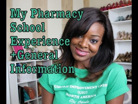 Pharmacy School Experience | General Information on Pharmacy