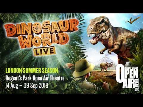 Dinosaur World Live :: Open Air Theatre