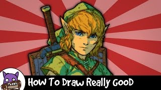 ✐ How To Draw Really Good - Princess Zelda (The green one from Zelda) ✐