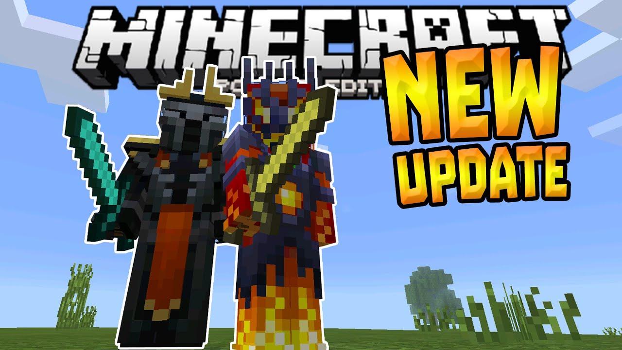 MCPE NEW UPDATE Brand New Skins Fixes Minecraft PE - Skins para minecraft pe 0 15 4