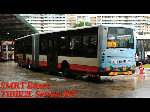 SMRT Buses - TIB1112L on Service 857 (Selegie Rd → Yio Chu Kang Rd)