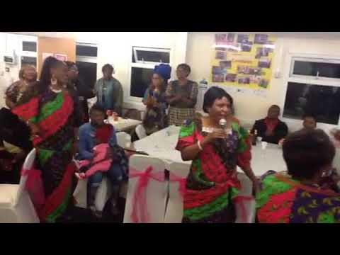 Women's day Congolese support group London in October 04 2017