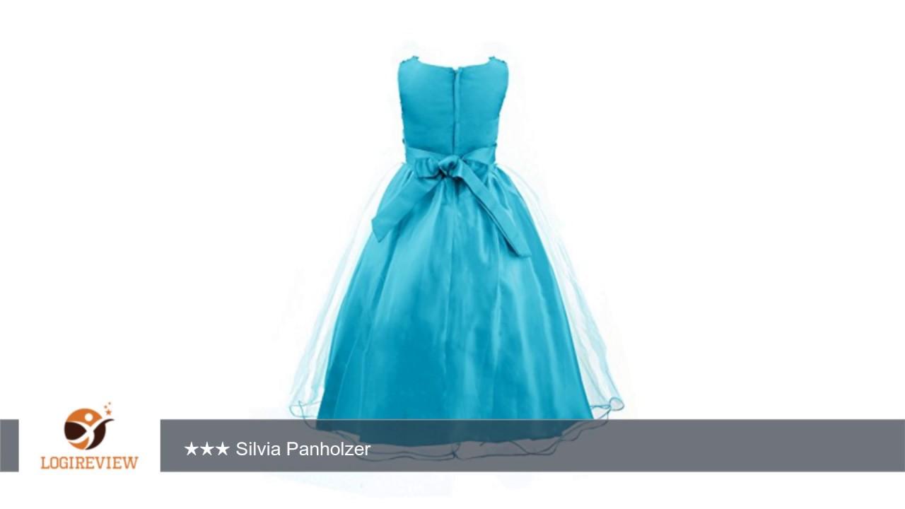 Mädchen Kinder Kleid Abendkleid Festkleid Kostüm Tutu Tüll mit ...
