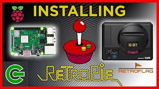 Installing RETROPIE into RASPBERRY PI 3B+ along with MEGAPI case
