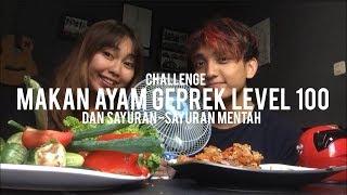 CHALLENGE : MAKAN AYAM GEPREK LEVEL 100 & SAYURAN MENTAH MP3