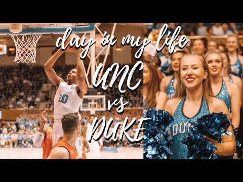 College Day In My Life at Duke | UNC vs Duke Basketball Game!! Mp3