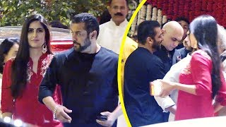 Salman Khan And Girlfriend Katrina Kaif Grand Entry At Mukesh Ambani's Ganpati Celebrations 2018