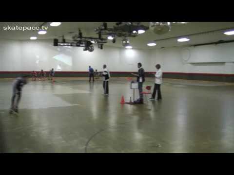(T13-14) Silver A/B 12 lap races - Bayside Blades Junior Series Races - 28/6/2009