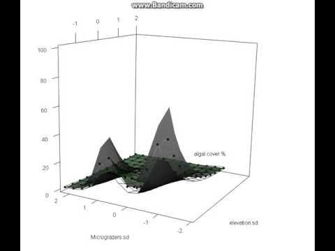 GAMM, Generalised Additive Mixed Model