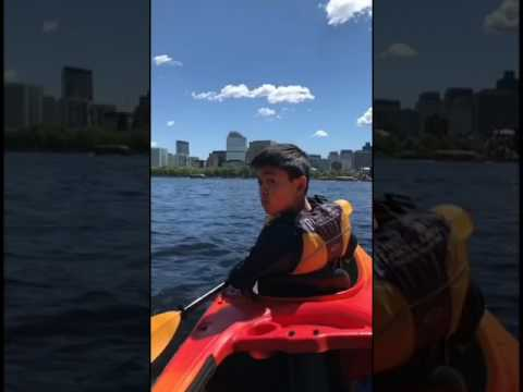 Kayaking from Kendall Square