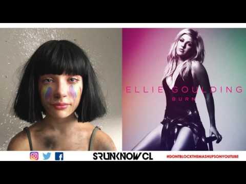 """Sia vs. Ellie Goulding - """"The Greatest Burn"""" (Mashup)"""