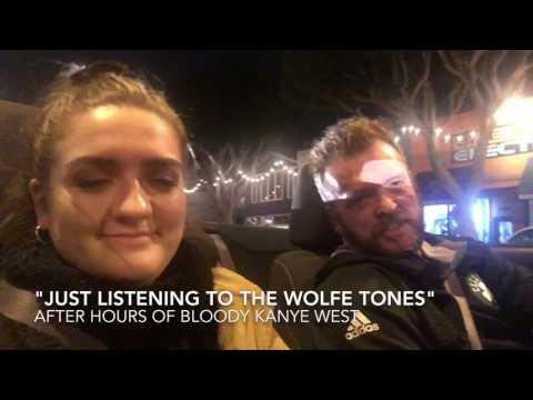 "Carpool karaoke ""streets of New York"""