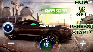 CSR Racing 2 How to get a perfect start in a live race?