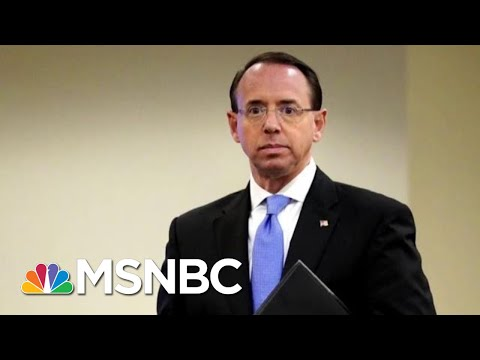 Deputy Attorney General Rod Rosenstein Submits Resignation Letter   MTP Daily   MSNBC