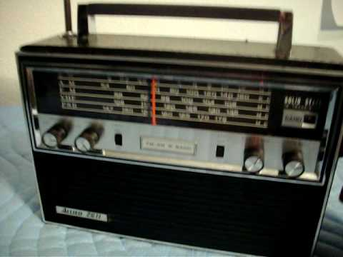 Early 70 S Allied Multi Band Shortwave Radio