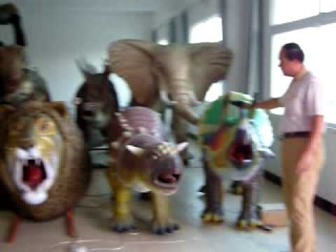 Animatronic Dinosaur Youtube
