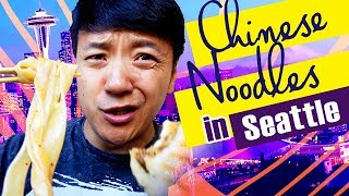 Chinese Noodles in Seattle & QUICK Trip to Vancouver