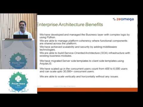 Image from Sponsored - Python in Enterprise - ZeOmega - Part1 - PyCon India 2015