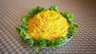 видео Пикантный салат из печени