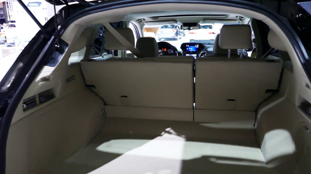 new 2018 acura rdx luxury suv checking cargo area space. Black Bedroom Furniture Sets. Home Design Ideas