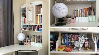 Детский стол: уборка, хранение пособий, игр, книг   Анна Чижова