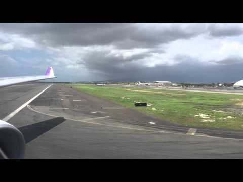 Hawaiian A330-200 Landing Honolulu