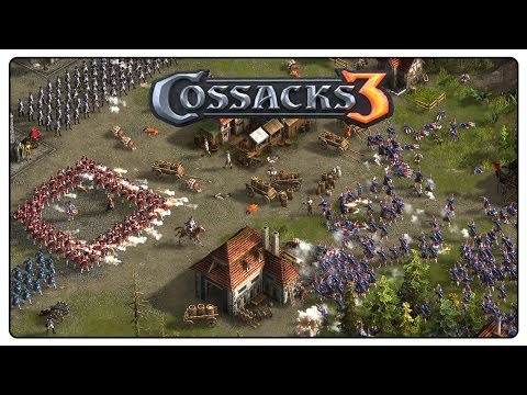 Cossack 3 First look Gameplay - Russian campaign #1