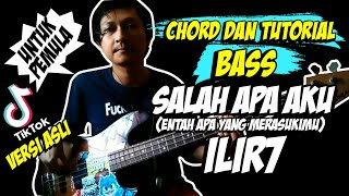 chord-tutorial-bass-salah-apa-aku-ilir7-original-version-untuk-pemula-chord