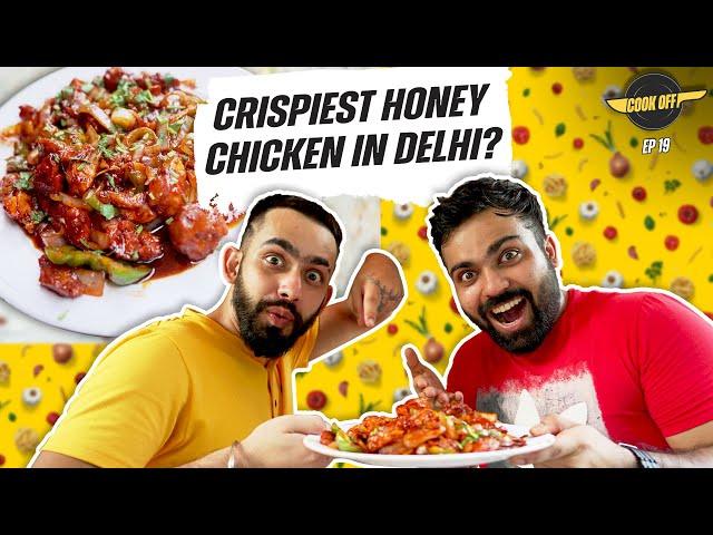 Crispy Honey Chicken Cooking Challenge at Dragon Hut | [Cook Off#19] 