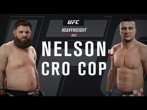 EA UFC 2 - Quick Fight - Roy Nelson Vs Mirko Cro Cop (ONLINE MATCH)
