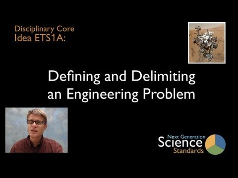 ETS1A - Defining and Delimiting Engineering Problems