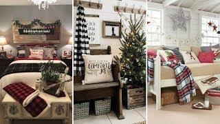 ❤DIY Rustic chic style Christmas decor Ideas❤ | Home decor & Interior design| Flamingo Mango