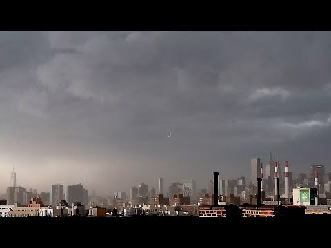 Astoria, NY - New York City Severe Storm And Debris - 5/15/2018