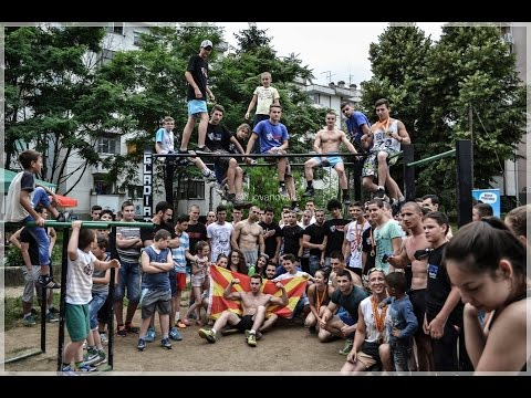 Kumanovo 19.06.2k16 Street Workout Competition [Highlights]