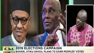 Journalists' Hangout 19th November 2018 | Buhari, Atiku kick off campaign
