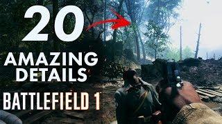 20 AMAZING Details in Battlefield 1