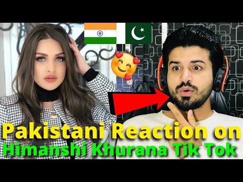 Pakistani React on Himanshi Khurana (BIGG BOSS) TIKTOK VIDEOS | Indian Actress | Reaction Vlogger