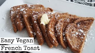 Easy Vegan French Toast Recipe  | Vegan Valentine's Day Food