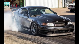 LS SWAPPED TWIN TURBO FORD MUSTANG - 9.02 @ 157mph