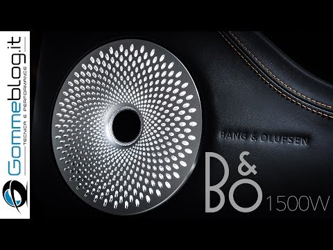 Bentley and Bang & Olufsen - HOW ITS DESIGNED a AUDIO FIRST Sound System