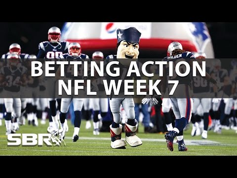 Sharp And Public Betting NFL Week 7 With BetDSI
